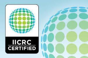 IICRC certified water restorer