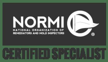 NORMI certified mold inspector