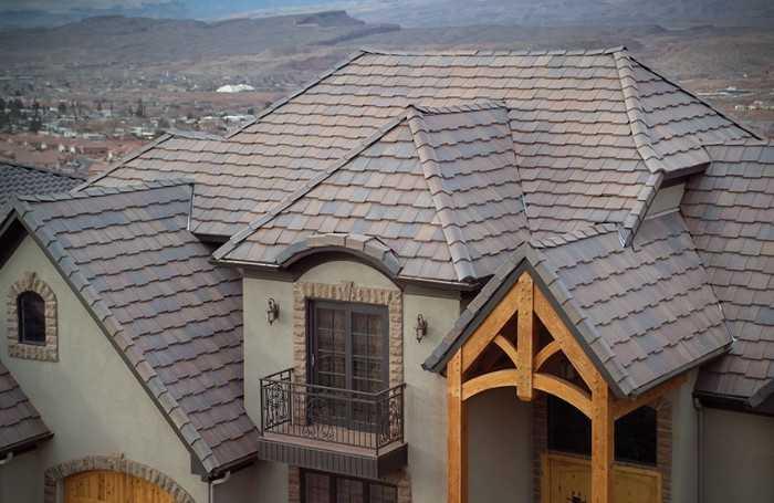 concrete roofs