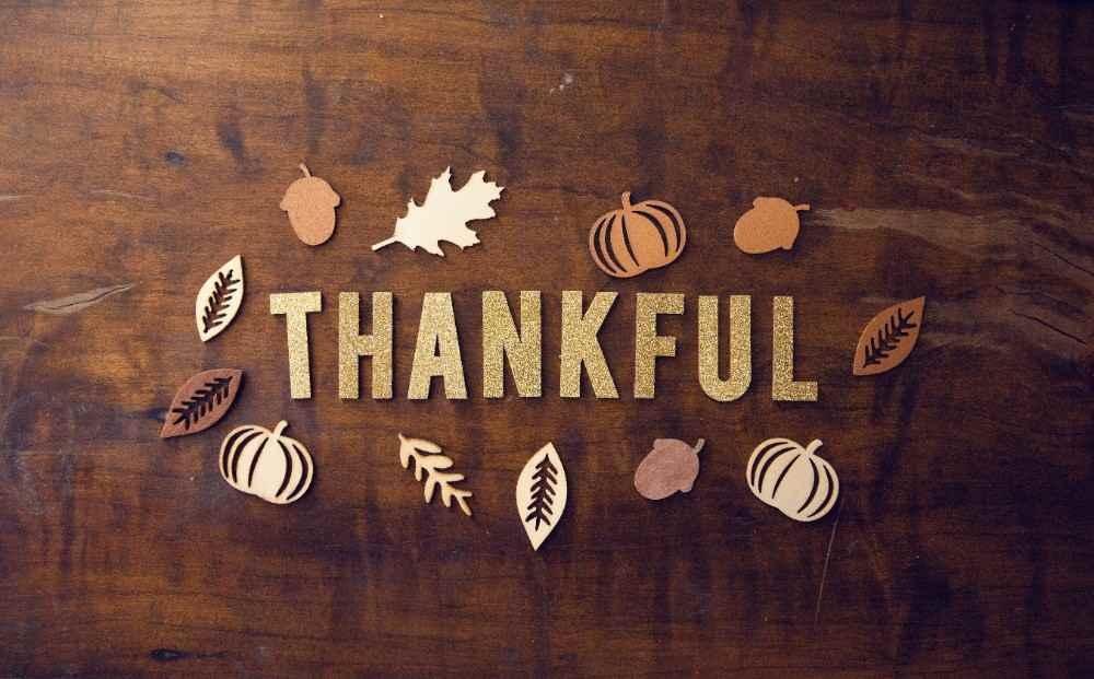 customers thankful